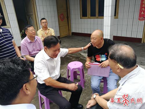 国荣主席率团赴四川考察