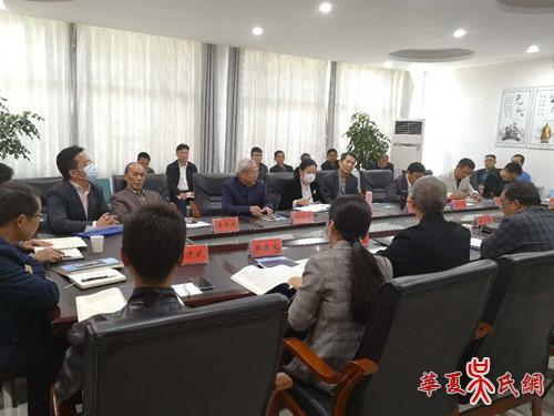 吴国伦文化研究会筹委会举行座谈会