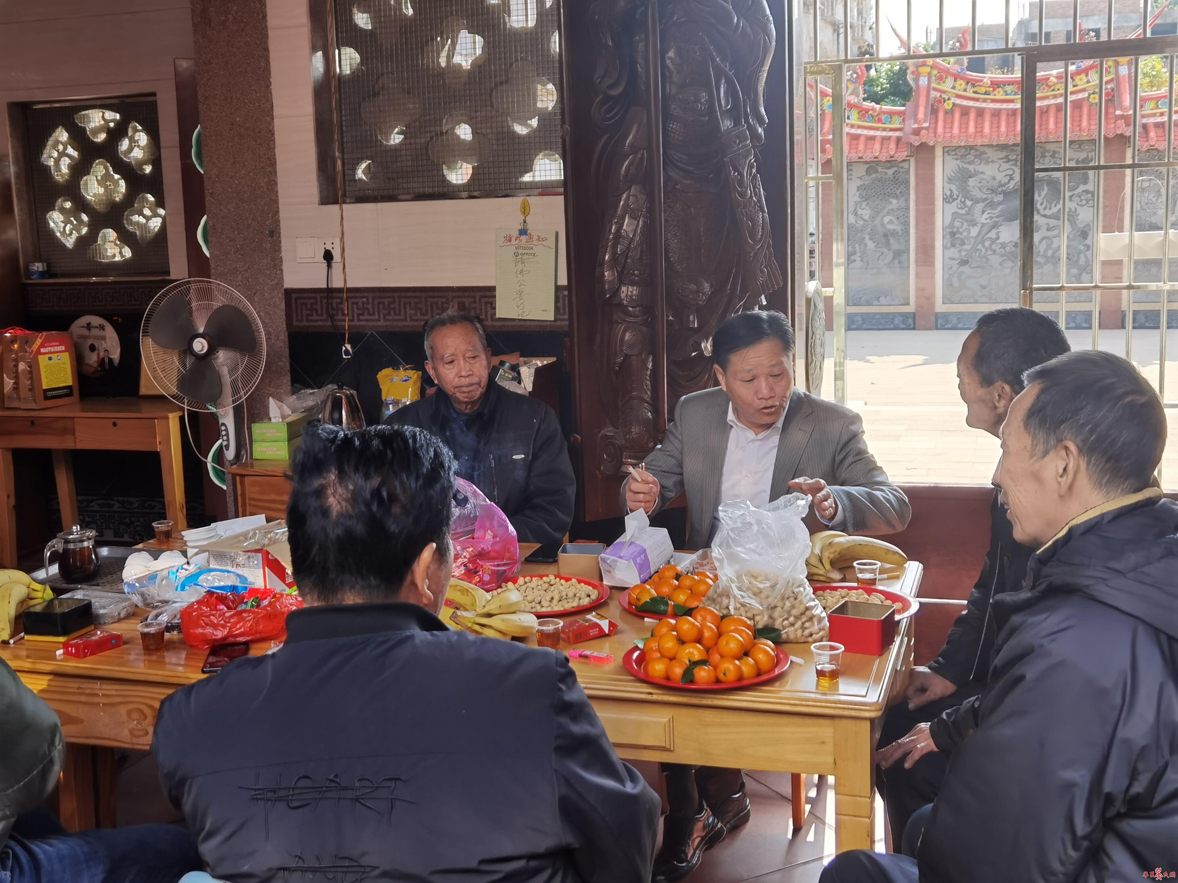 厦门吴氏委员会新春慰问活动