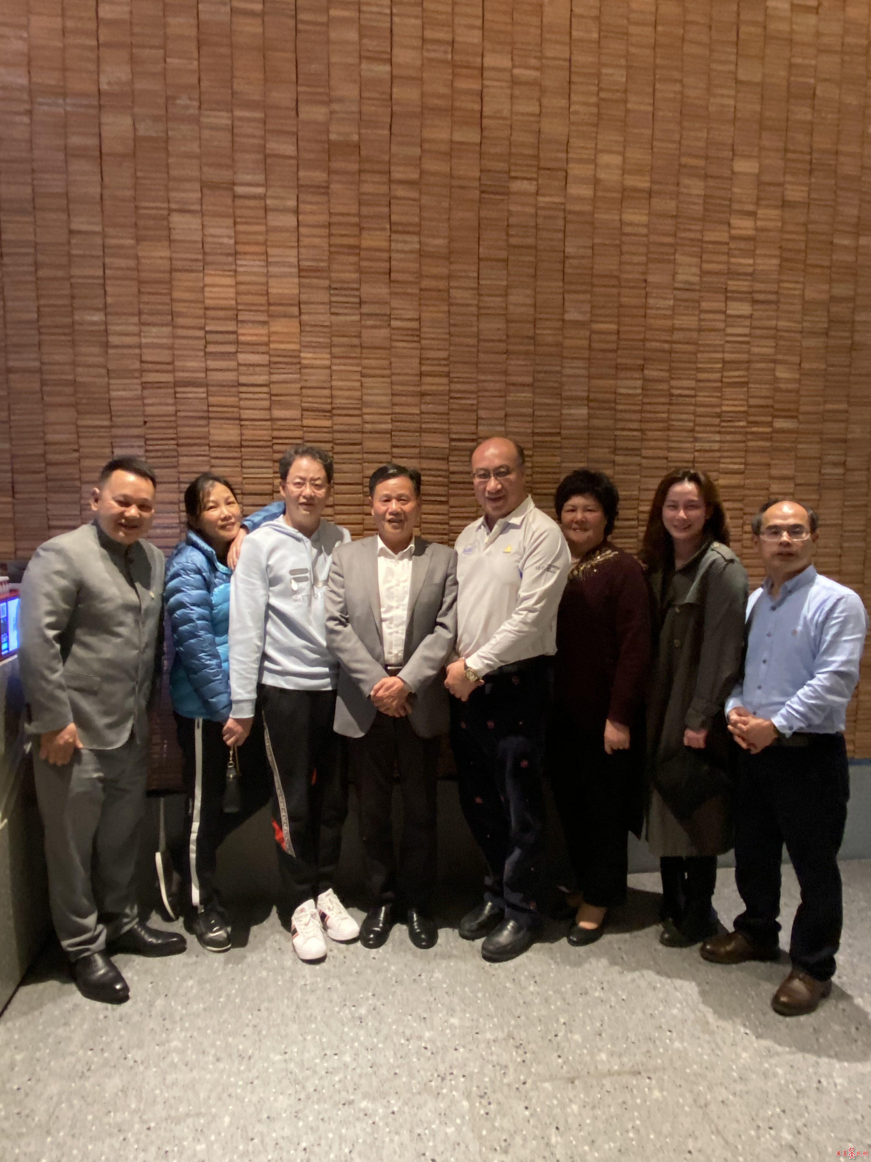香港国泰集团总裁吴健宏访问厦吴会